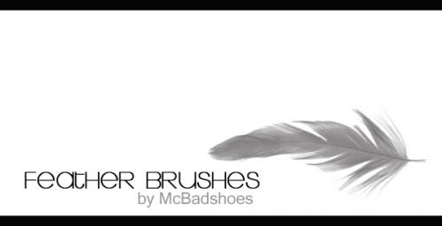 Photoshop(フォトショップ)羽毛ブラシ5