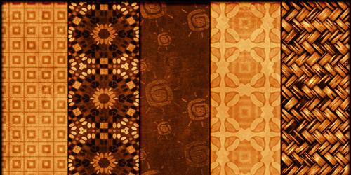 レトロで美しいパターンのPhotoshop(フォトショップ)無料パターン素材