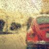 窓ガラス越しに雨を降らせるリアルなアニメーション『rainyday.js』